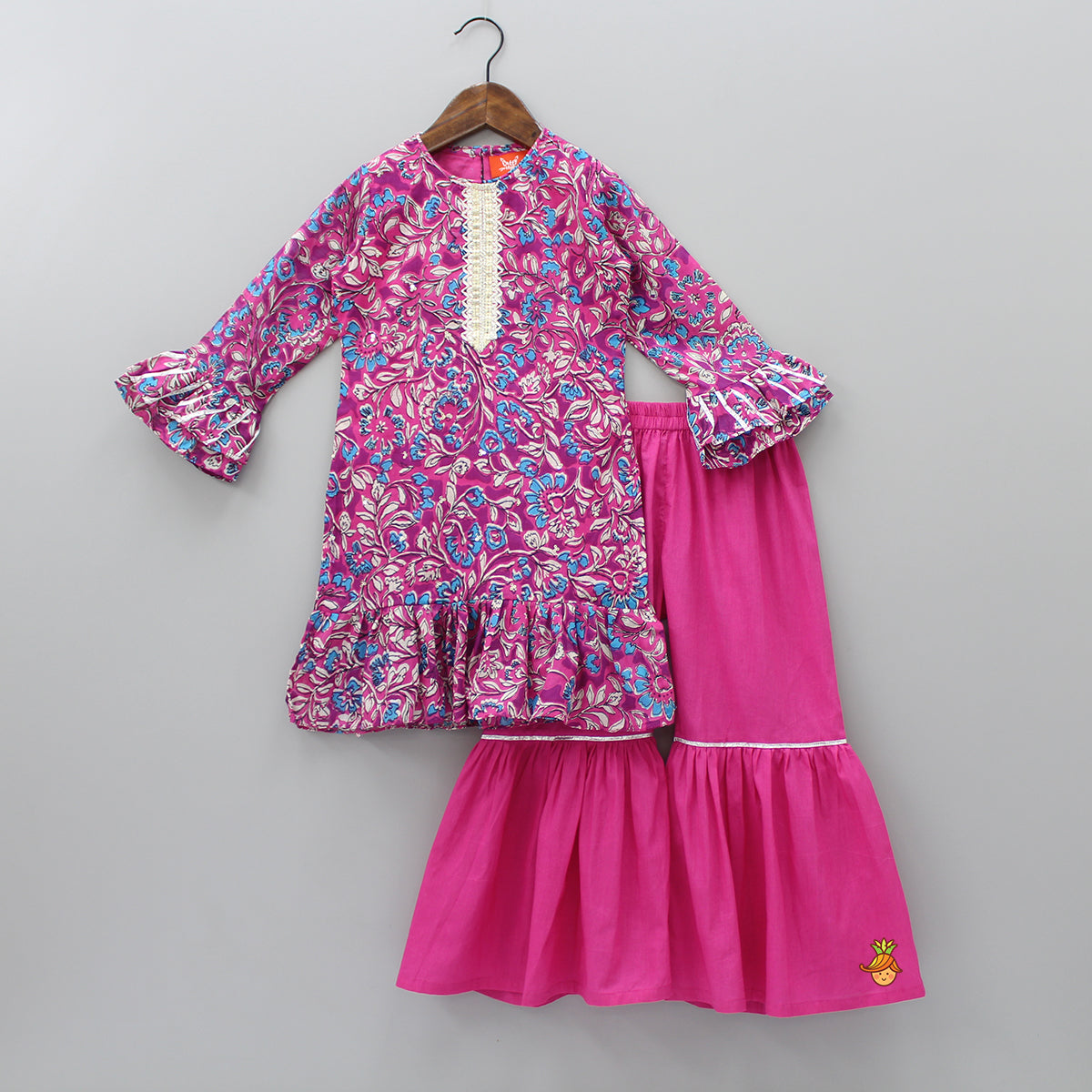 Floral Kurta With Palazzo