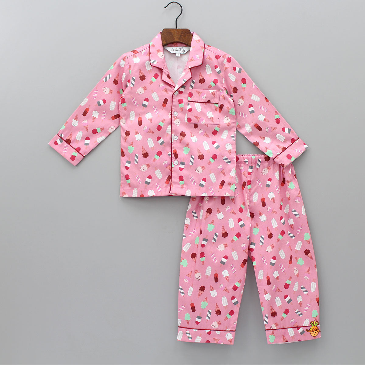 Ice -Cream Printed Sleepwear