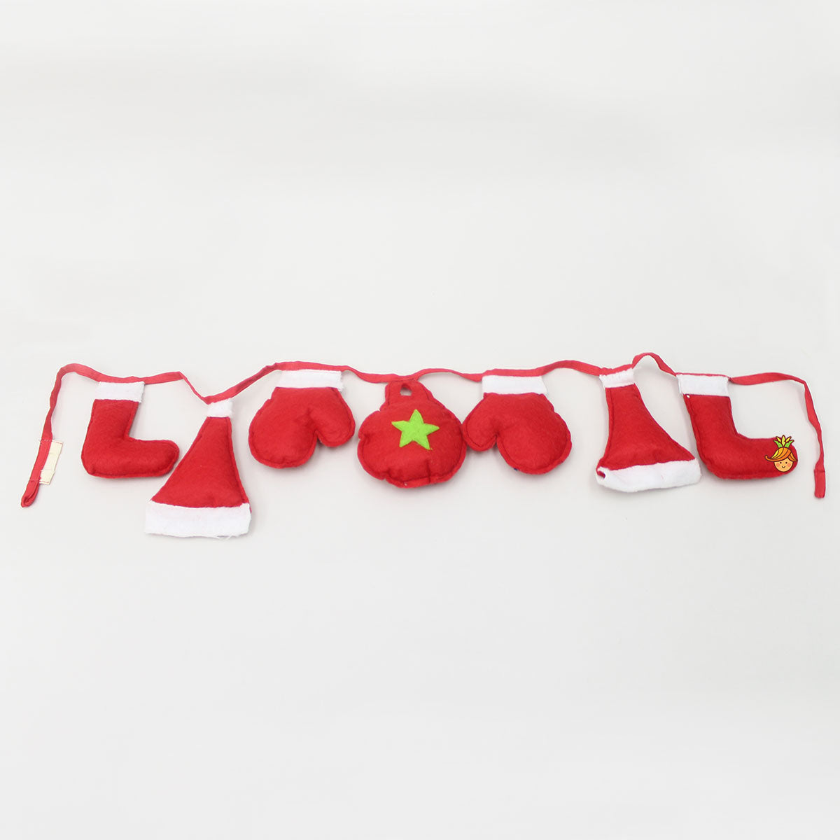 Christmas Gloves And Stocking Shape Bunting