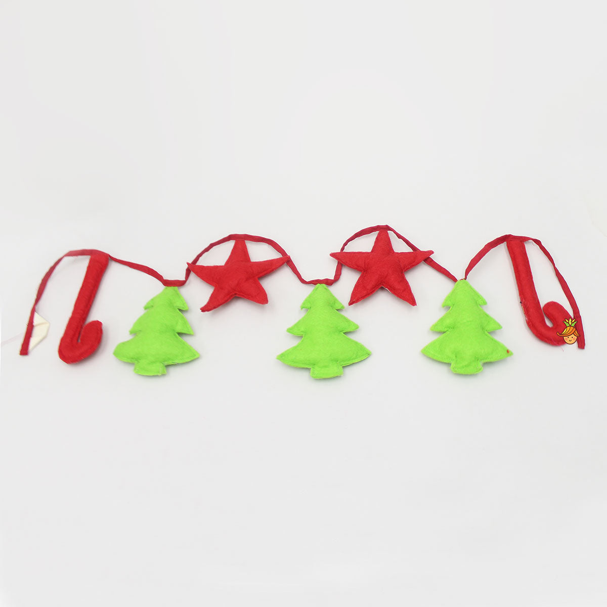 Tree And Star Felt Bunting