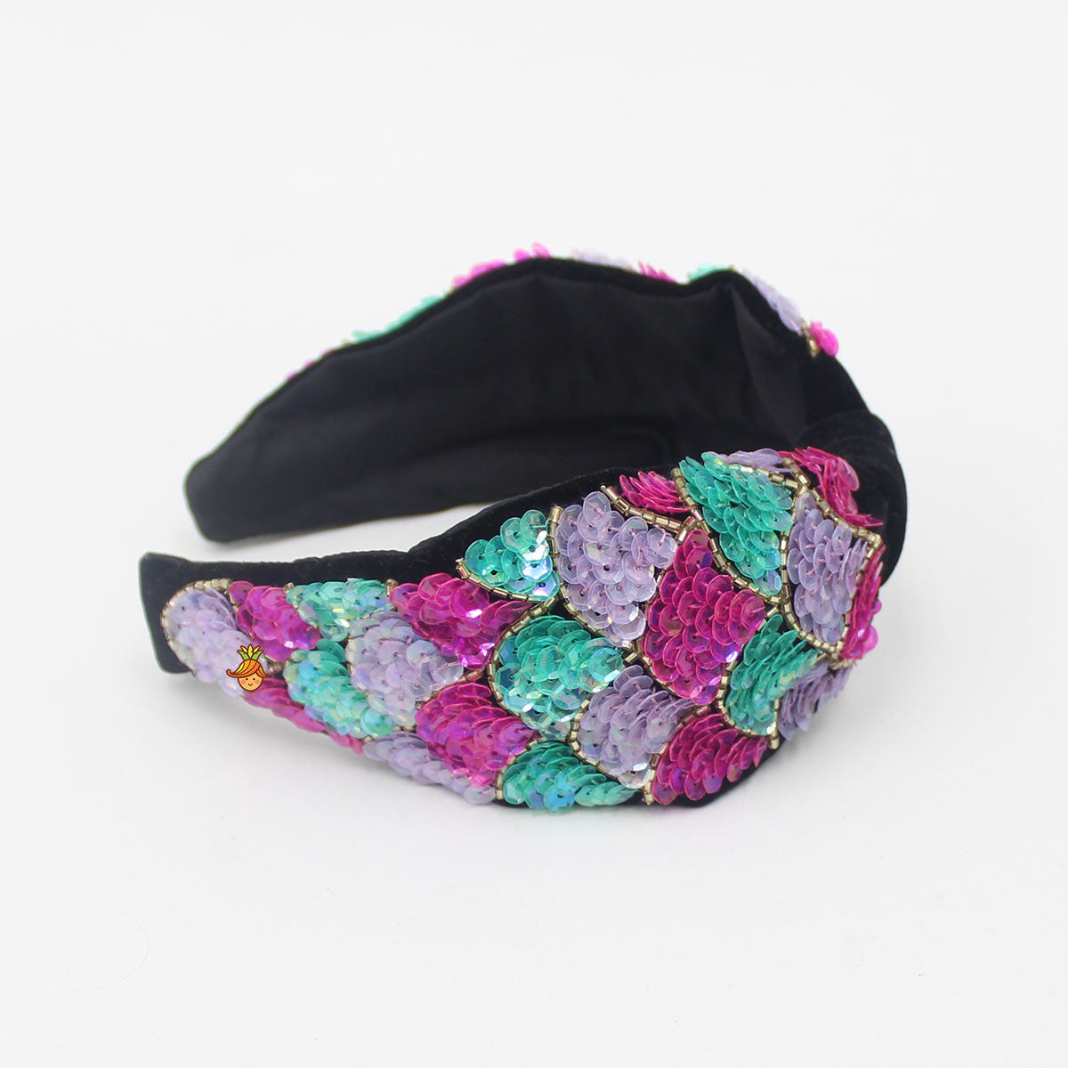Pre Order: Mermaid Sequin Embroidered Hairband