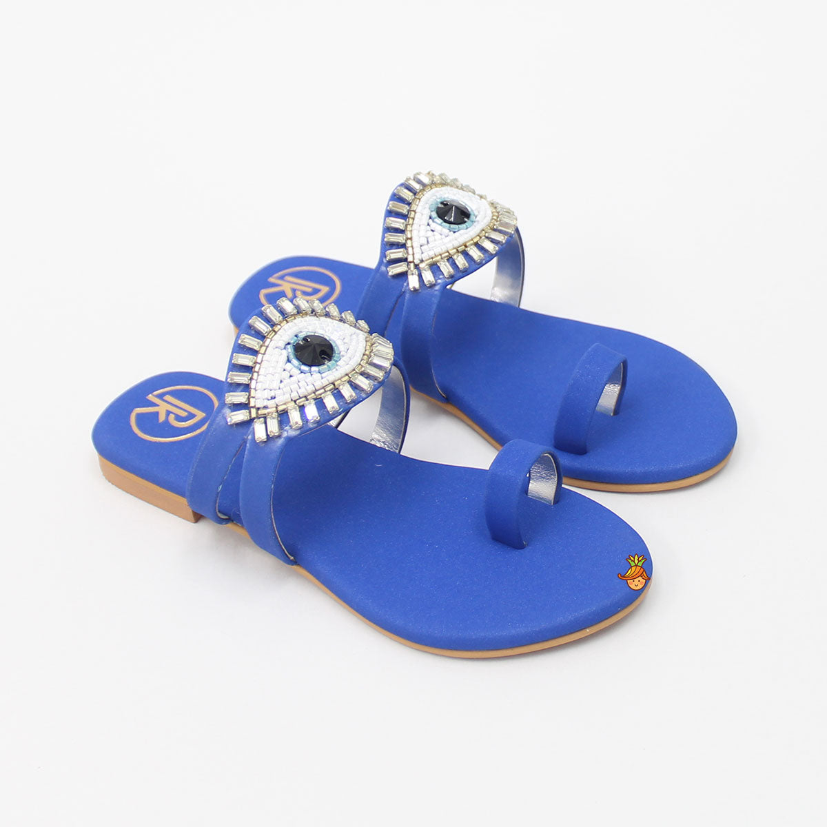 Blue Evil Eye Sandal