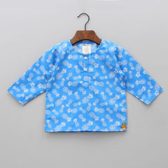 Blue Pineapple Sleepwear