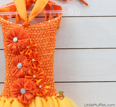 Yellow And Orange Tutu