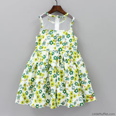 Yellow Green Floral