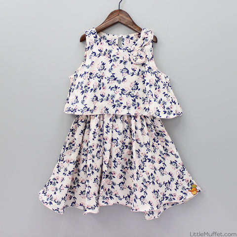 Little Flower Printed Dress