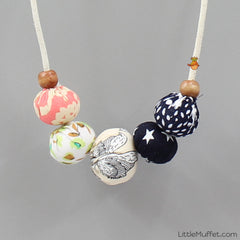 Multi Color Sphere Necklace