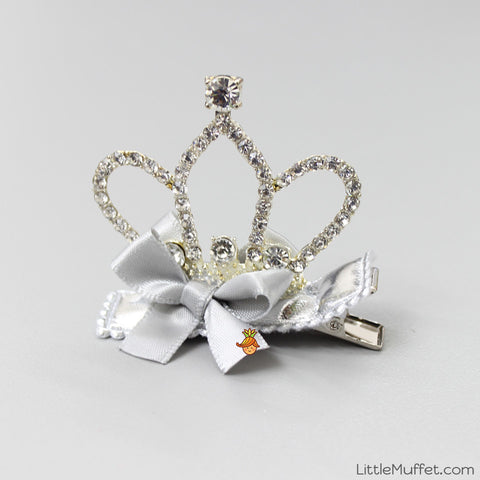 Silver Crown Clip