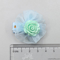 Roses- Blue- Set Of 2
