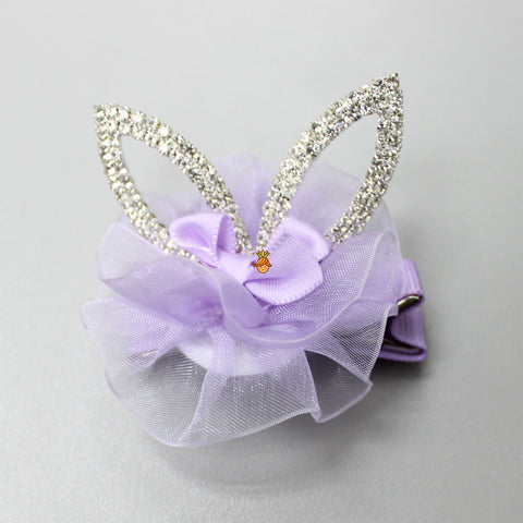 Diamond Ear Clip- Lilac