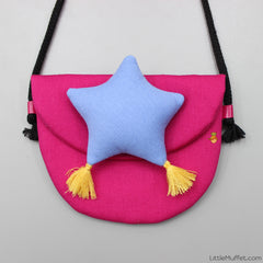 Star Bag- Pink & Blue