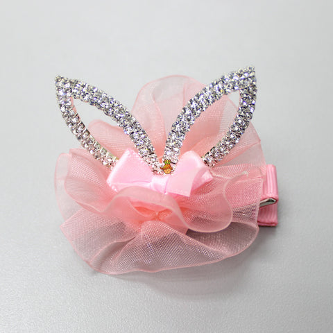 Diamond Ear Clip- Peach