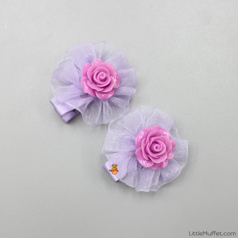 Roses- Lilac- Set Of 2