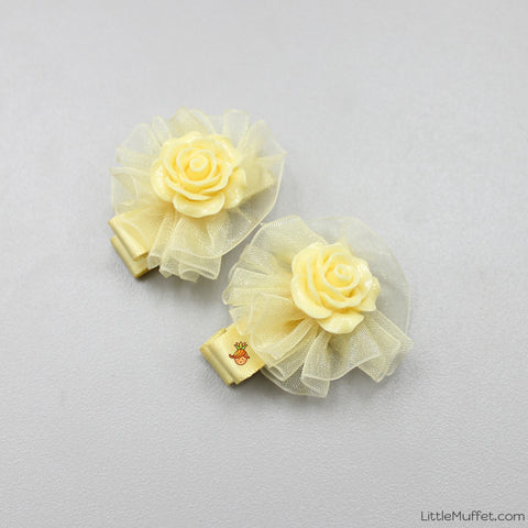 Roses- Yellow- Set Of 2