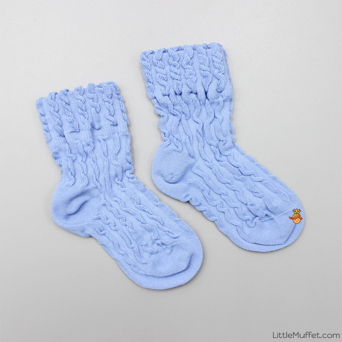 Self Design Socks- Blue