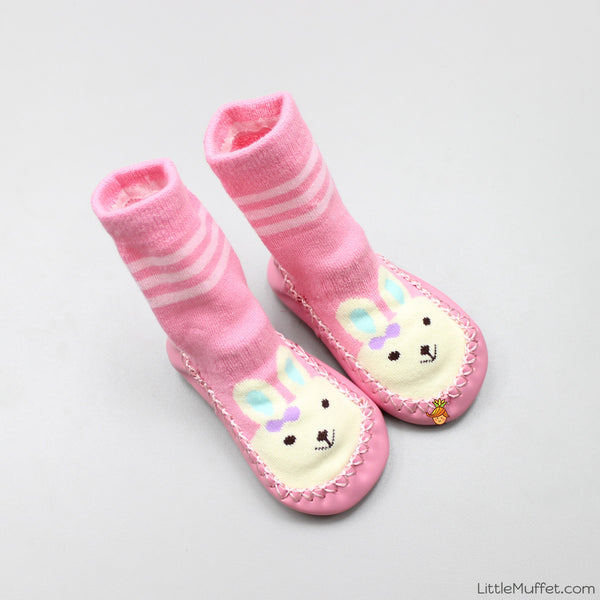Slipper Socks - Pink