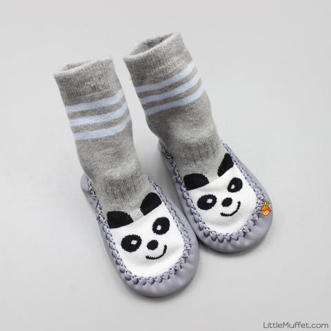 Slipper Socks - Grey