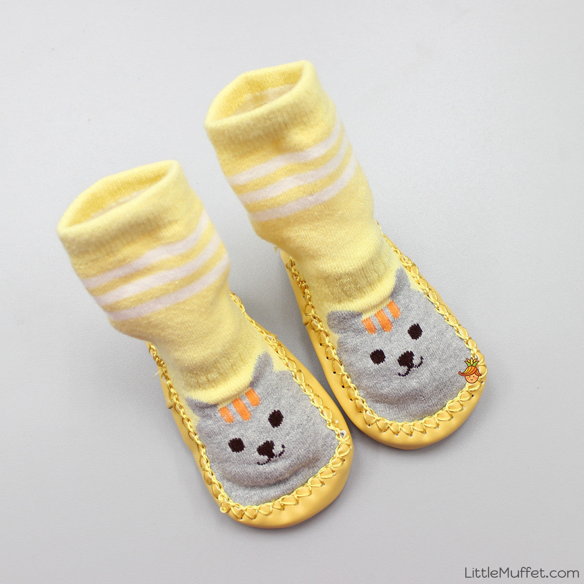 Slipper Socks - Yellow
