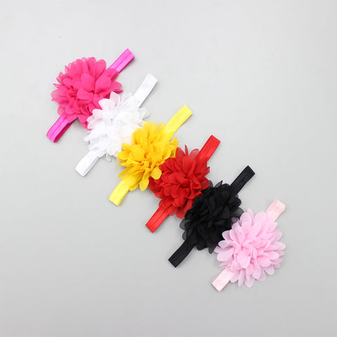Flowery Bands - Set Of 6 Headbands