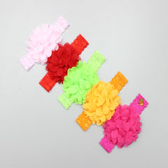 Flower Band - Set Of 5 Headbands