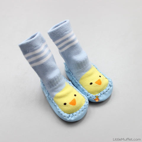 Slipper Socks - Blue