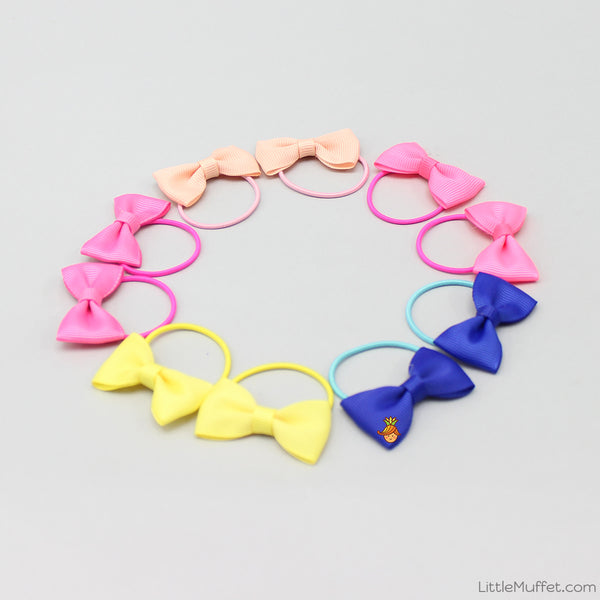 Little Bowy 10 Pieces Hair Ties Set - 2