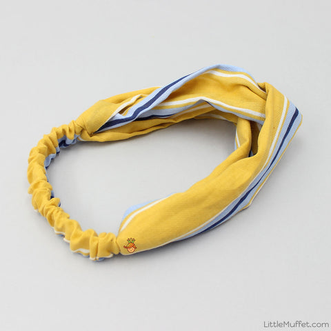 Yellow Stripy Headband