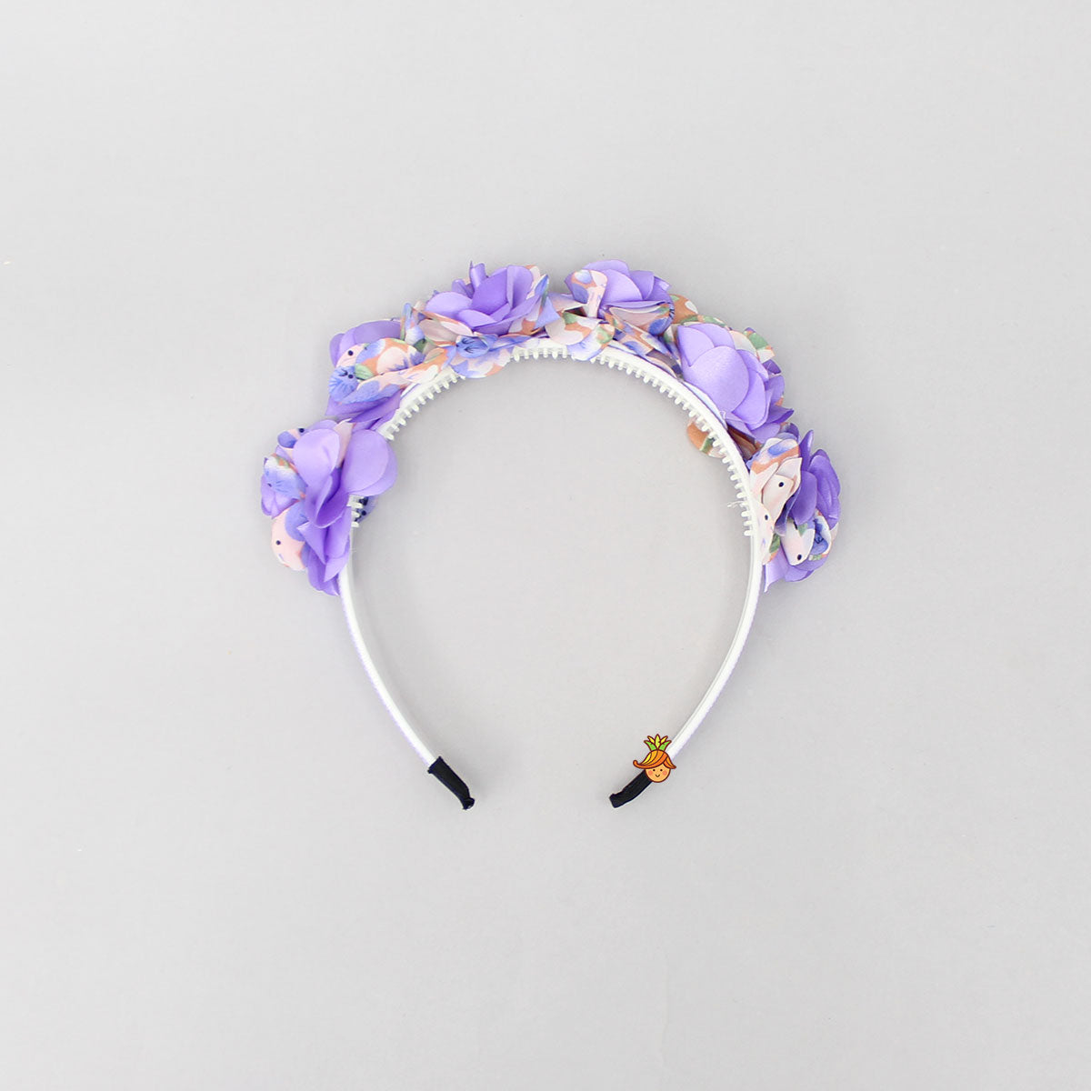 Purple Rose Hairband