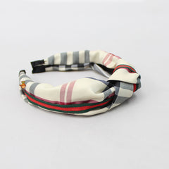 Checks & Stripes Hairband