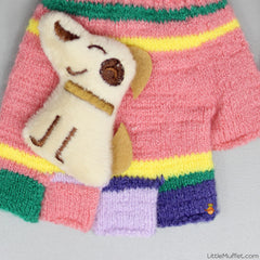 Multicolour Doggy - Pink