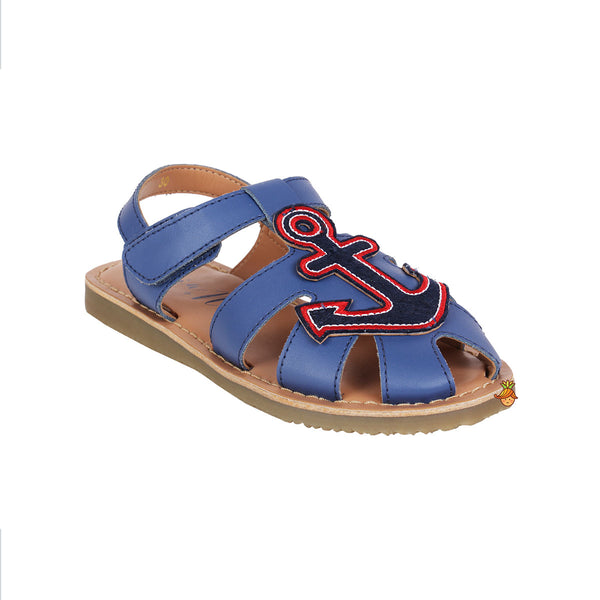 Anchor Blue Sandal