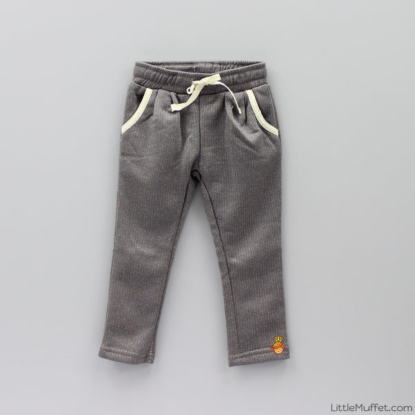 Shimmery Pants - Grey