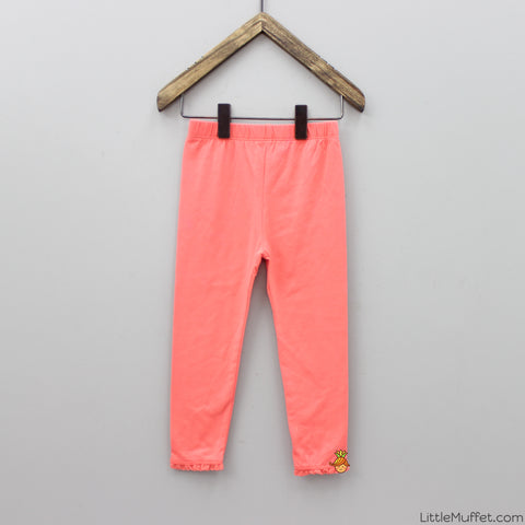 Leggings - Coral