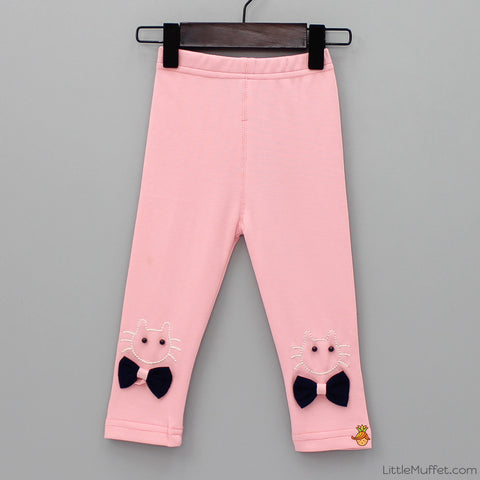 Kitty Capri - Pink