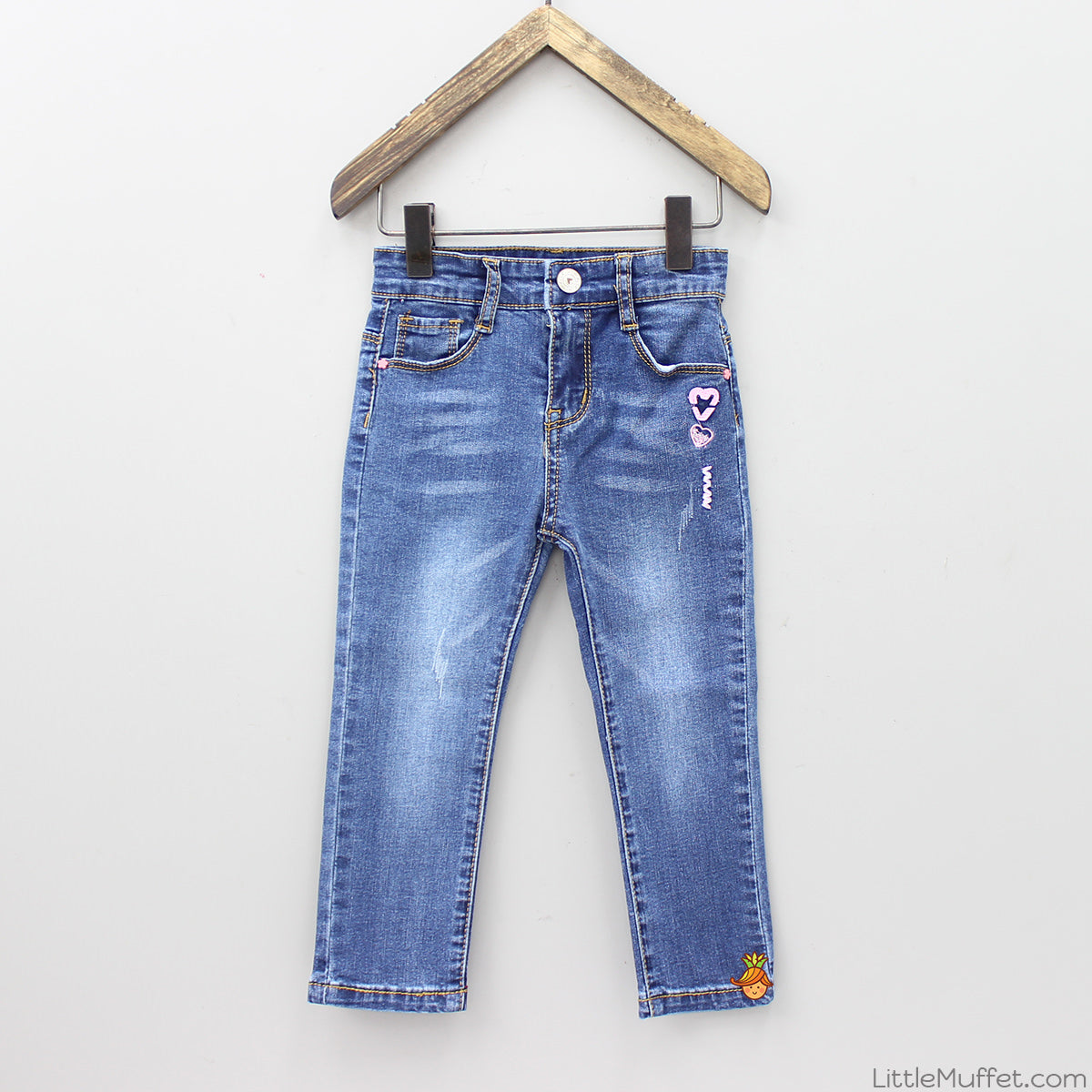 Hearty Denim-Dark Blue