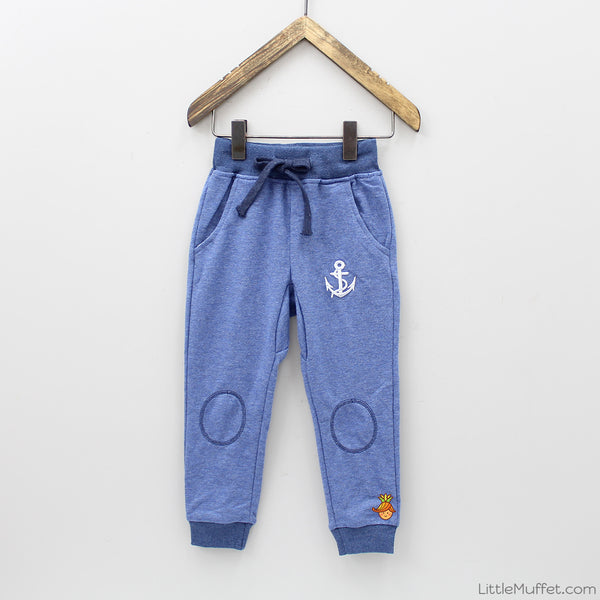 Blue Anchor Joggers