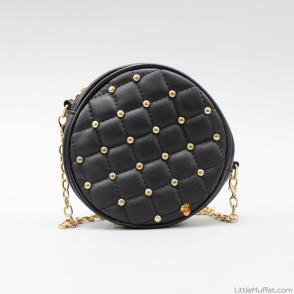 Black Criss Cross Bag