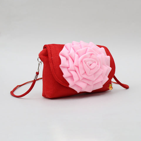 Pink Rosy Red Sling Bag