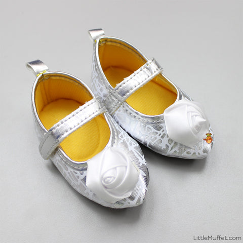 White Rose Shoes