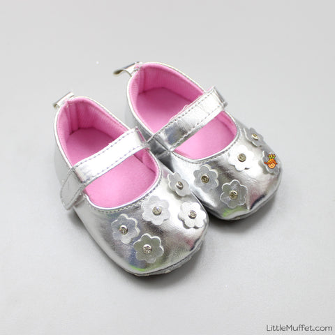 Silver Shining Shoes
