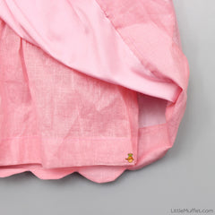 Pre Order: Scallop Skirt-Top Set (Pink)
