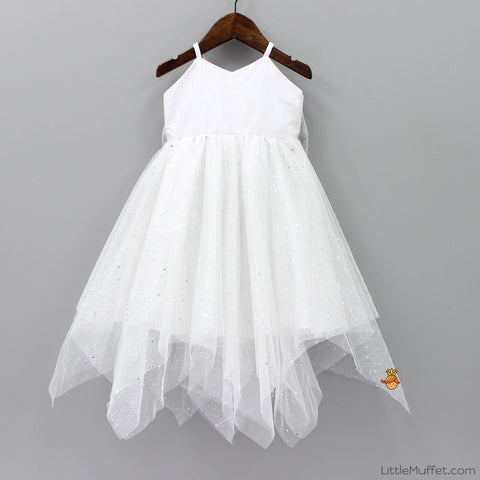 Pre Order: Sparkling Gown - White