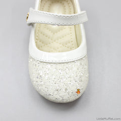 Sparkling Shoes - White