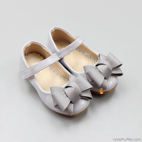 Pretty Bow Bellies - Grey
