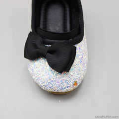 Sparkling Bow Bellies - White