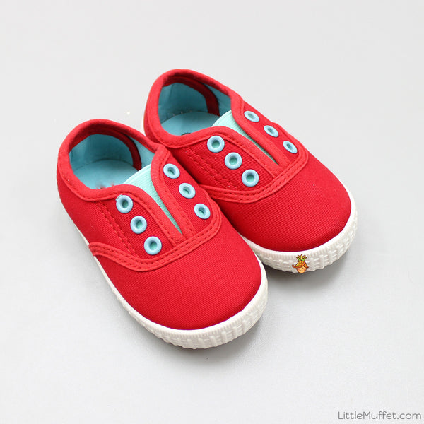Red Play Shoes