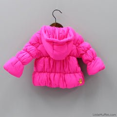 Bright Pink Fluffy Jacket