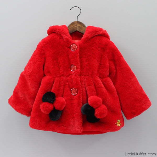 Red Furry Jacket
