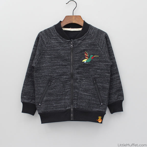Birdies Zipper - Black
