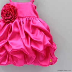 Pre Order: Satin Layered Dress